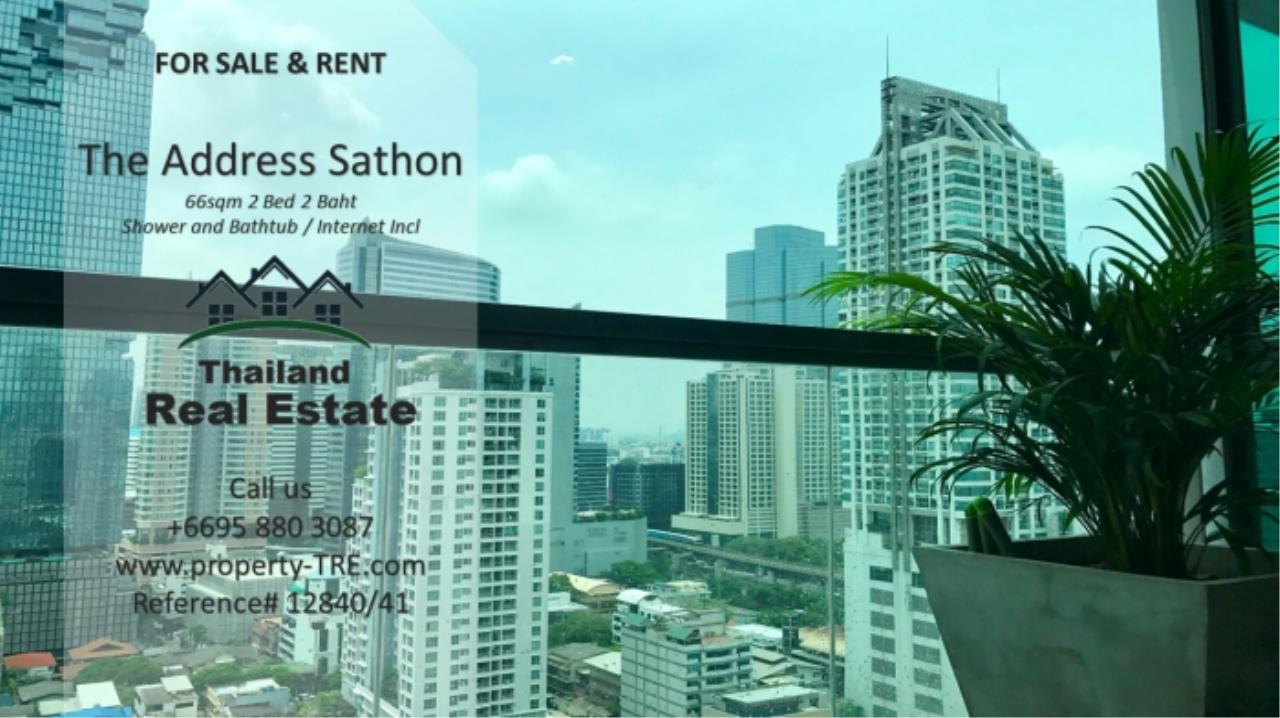 Thailand Real Estate Agency's 2 bed, 2 bath For Sale and Rent | The Address Sathon (Reference 12841) 11