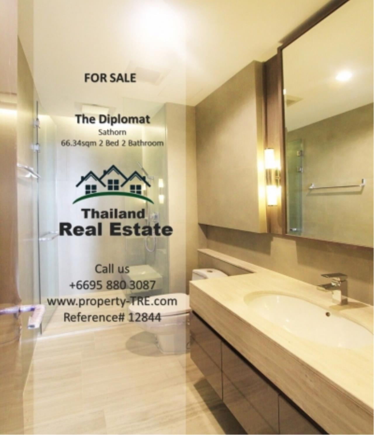 Thailand Real Estate Agency's 2 Bedroom Condo at The Diplomat near Surasak BTS (12844) 2