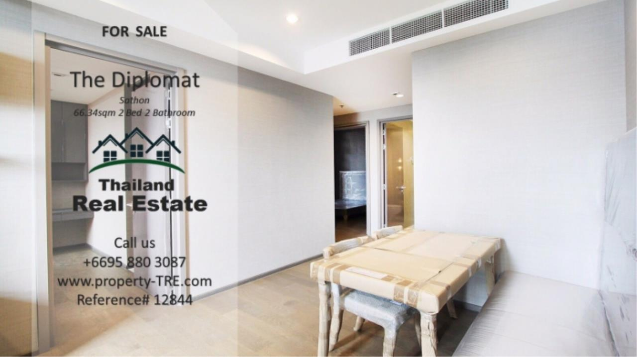 Thailand Real Estate Agency's 2 Bedroom Condo at The Diplomat near Surasak BTS (12844) 3