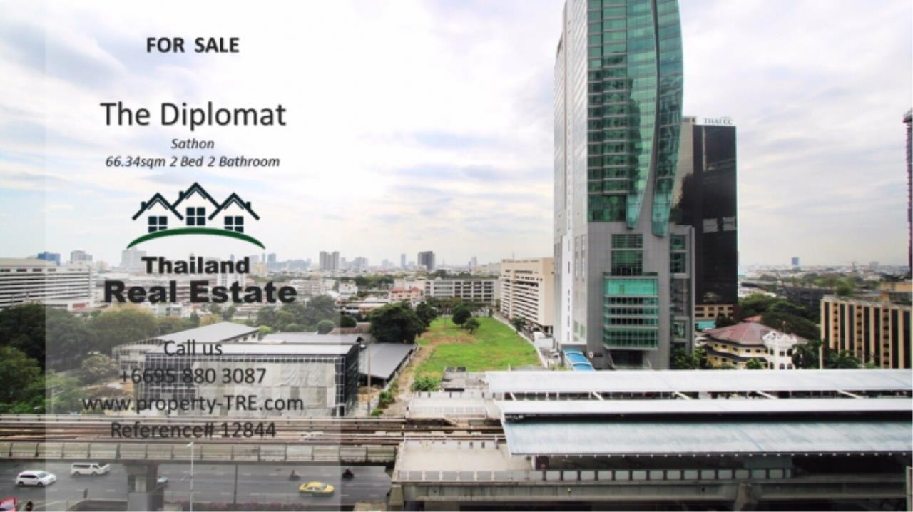 Thailand Real Estate Agency's 2 Bedroom Condo at The Diplomat near Surasak BTS (12844) 1