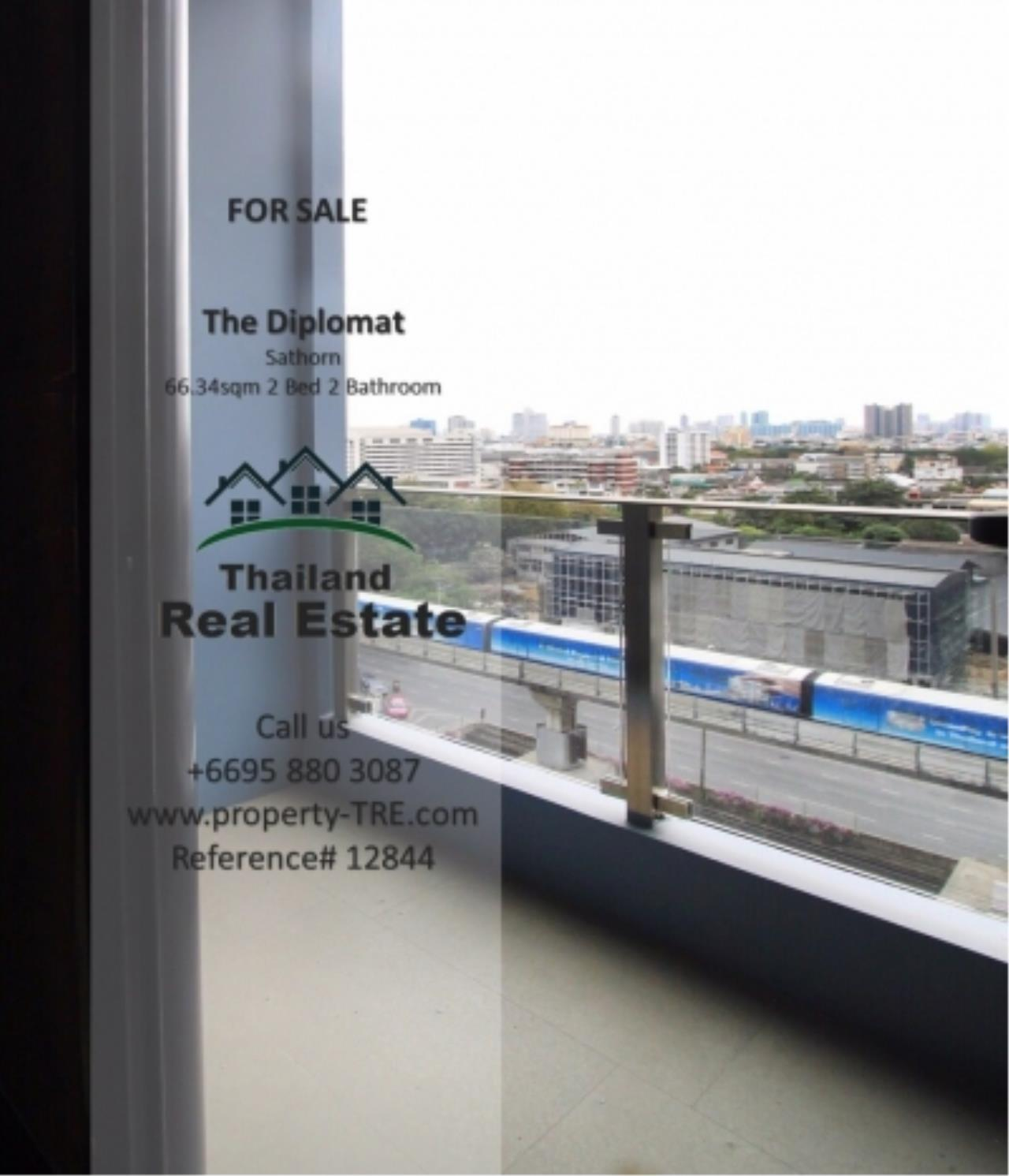 Thailand Real Estate Agency's 2 Bedroom Condo at The Diplomat near Surasak BTS (12844) 5