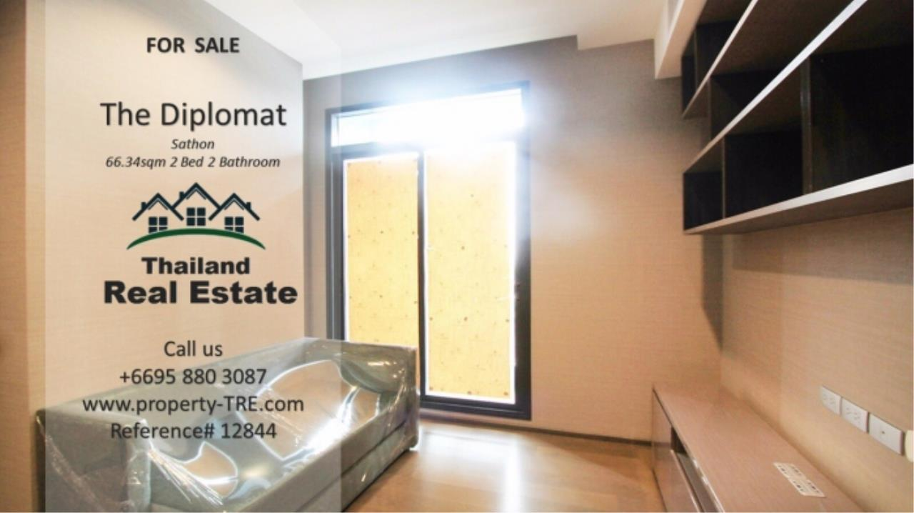 Thailand Real Estate Agency's 2 Bedroom Condo at The Diplomat near Surasak BTS (12844) 6