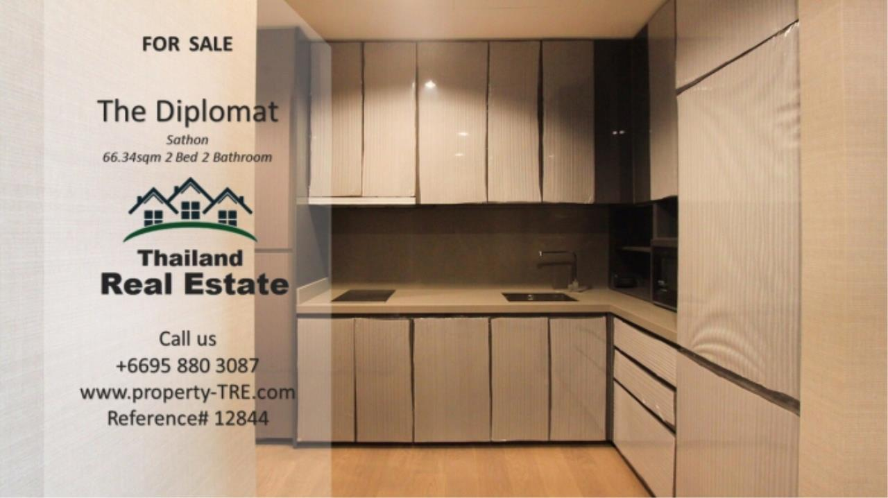 Thailand Real Estate Agency's 2 Bedroom Condo at The Diplomat near Surasak BTS (12844) 7