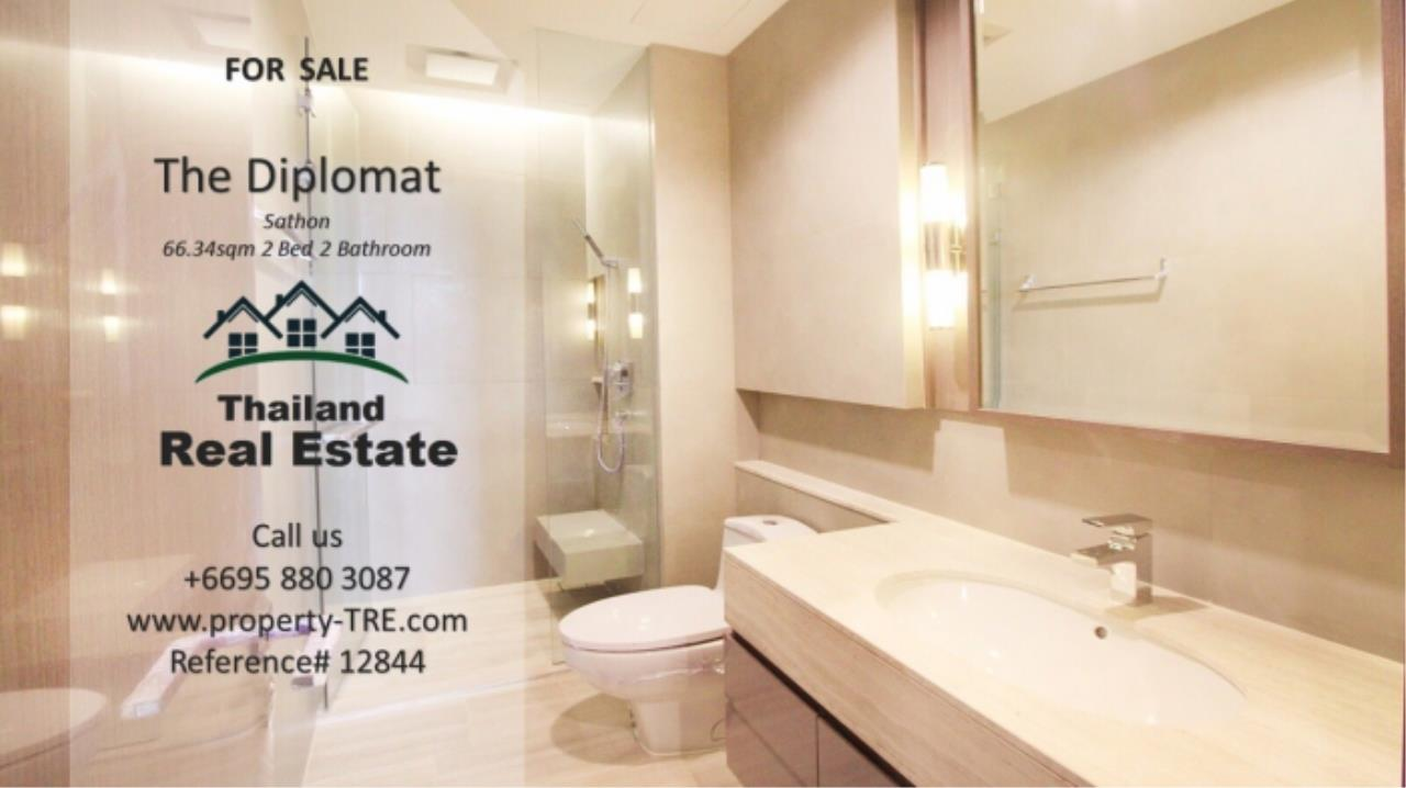 Thailand Real Estate Agency's 2 Bedroom Condo at The Diplomat near Surasak BTS (12844) 8