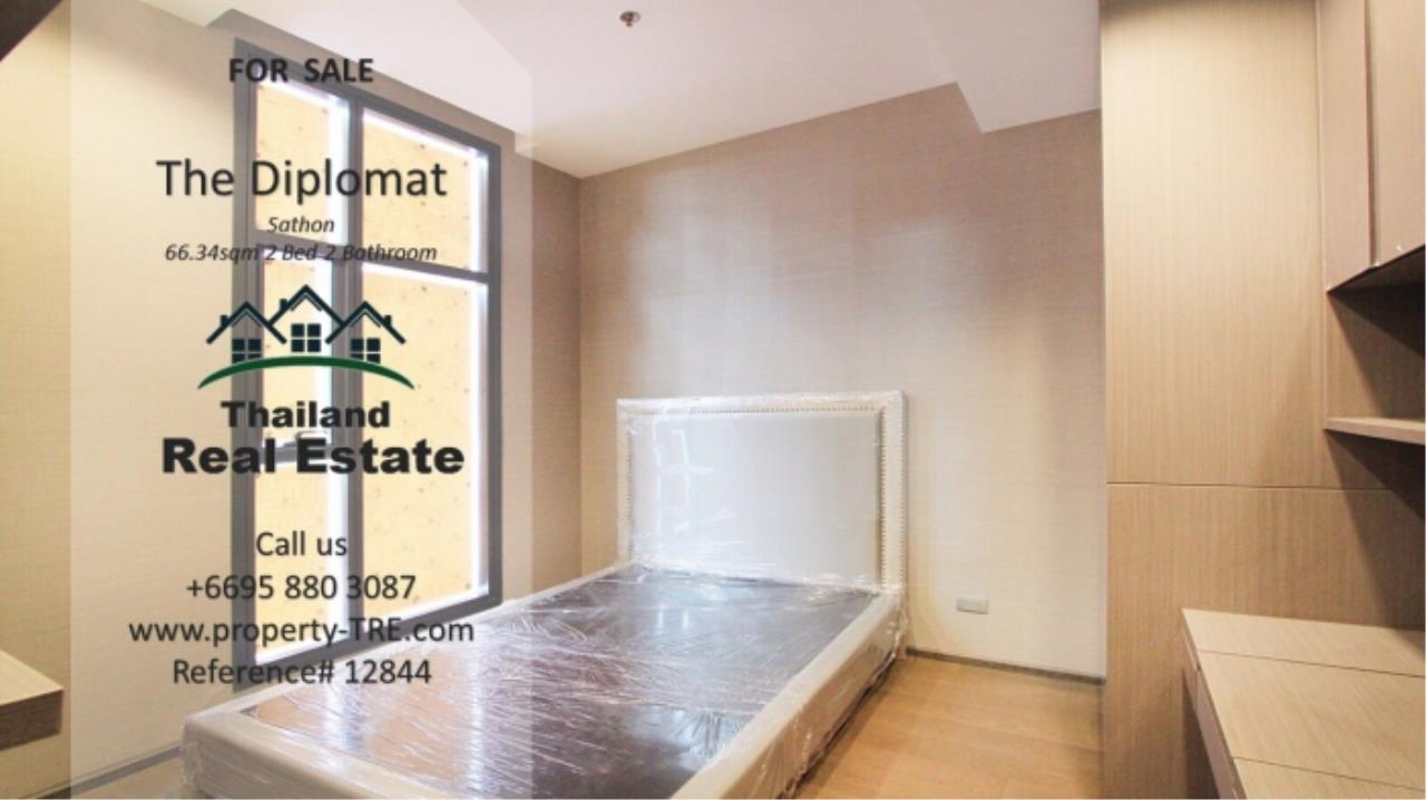 Thailand Real Estate Agency's 2 Bedroom Condo at The Diplomat near Surasak BTS (12844) 10
