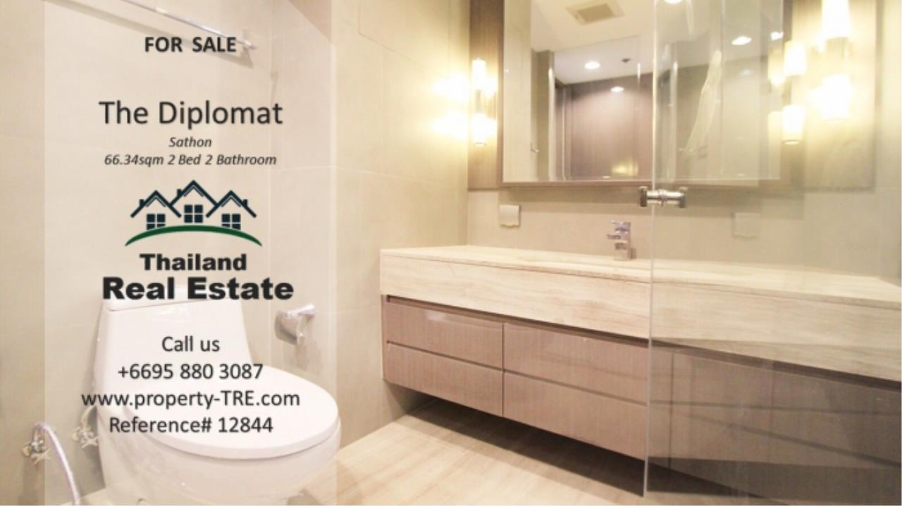 Thailand Real Estate Agency's 2 Bedroom Condo at The Diplomat near Surasak BTS (12844) 11