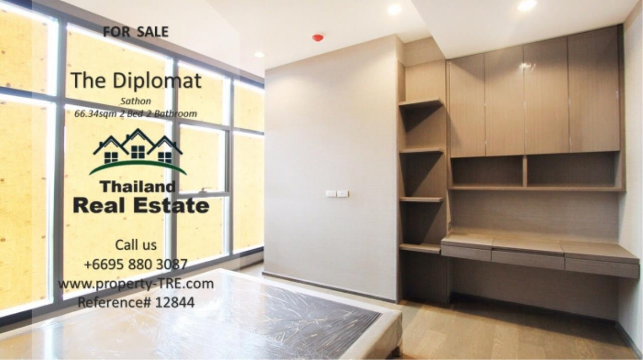 Thailand Real Estate Agency's 2 Bedroom Condo at The Diplomat near Surasak BTS (12844) 12