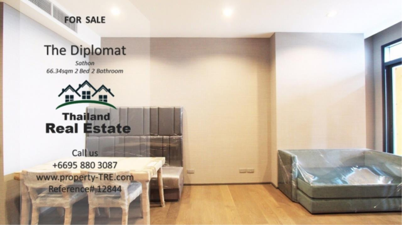 Thailand Real Estate Agency's 2 Bedroom Condo at The Diplomat near Surasak BTS (12844) 13