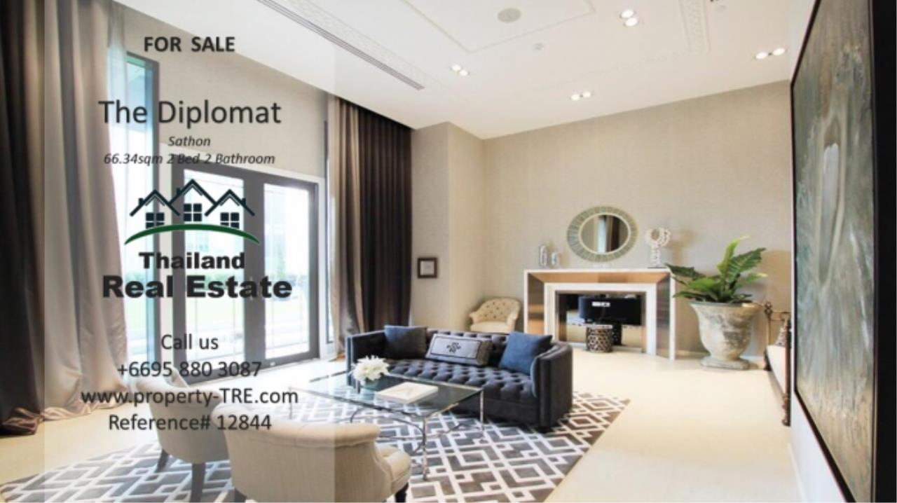 Thailand Real Estate Agency's 2 Bedroom Condo at The Diplomat near Surasak BTS (12844) 15