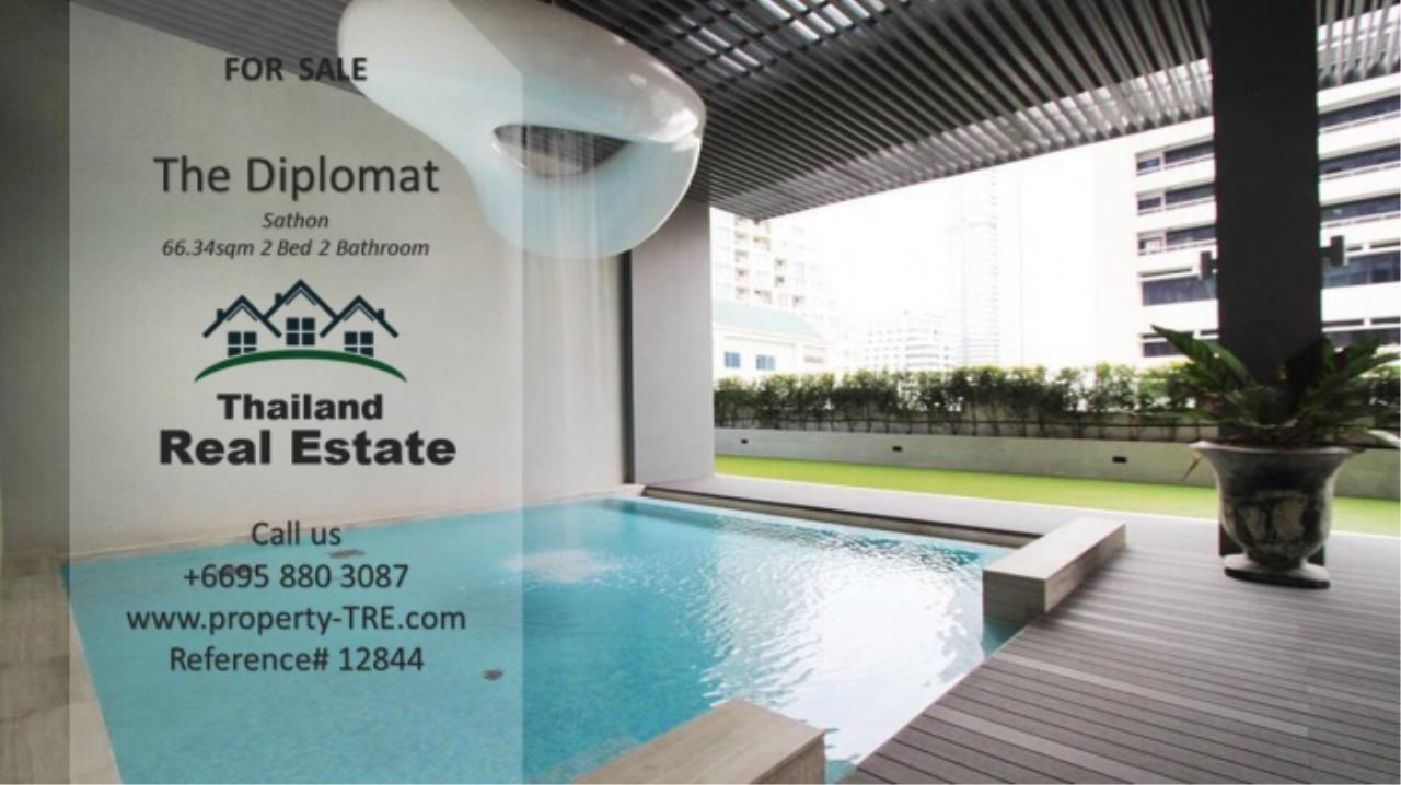 Thailand Real Estate Agency's 2 Bedroom Condo at The Diplomat near Surasak BTS (12844) 16