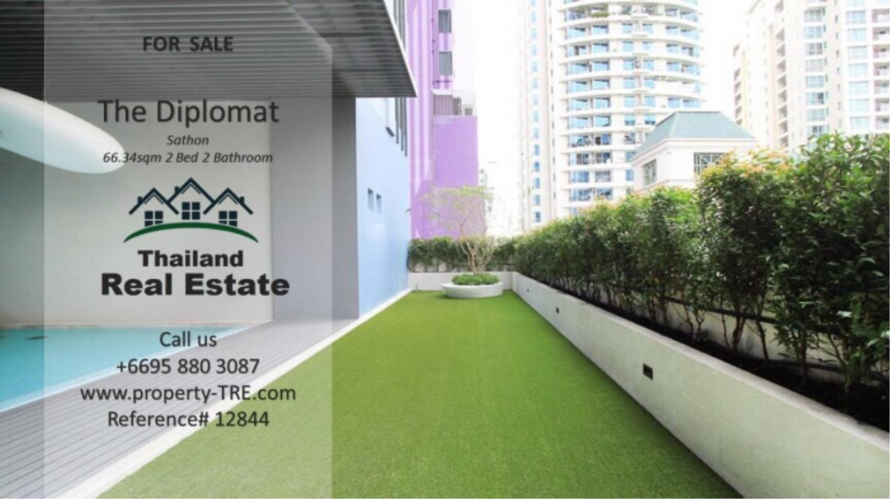 Thailand Real Estate Agency's 2 Bedroom Condo at The Diplomat near Surasak BTS (12844) 17