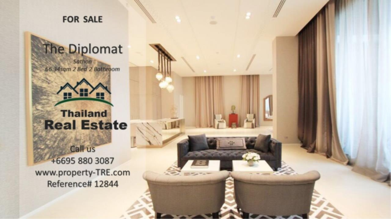 Thailand Real Estate Agency's 2 Bedroom Condo at The Diplomat near Surasak BTS (12844) 18