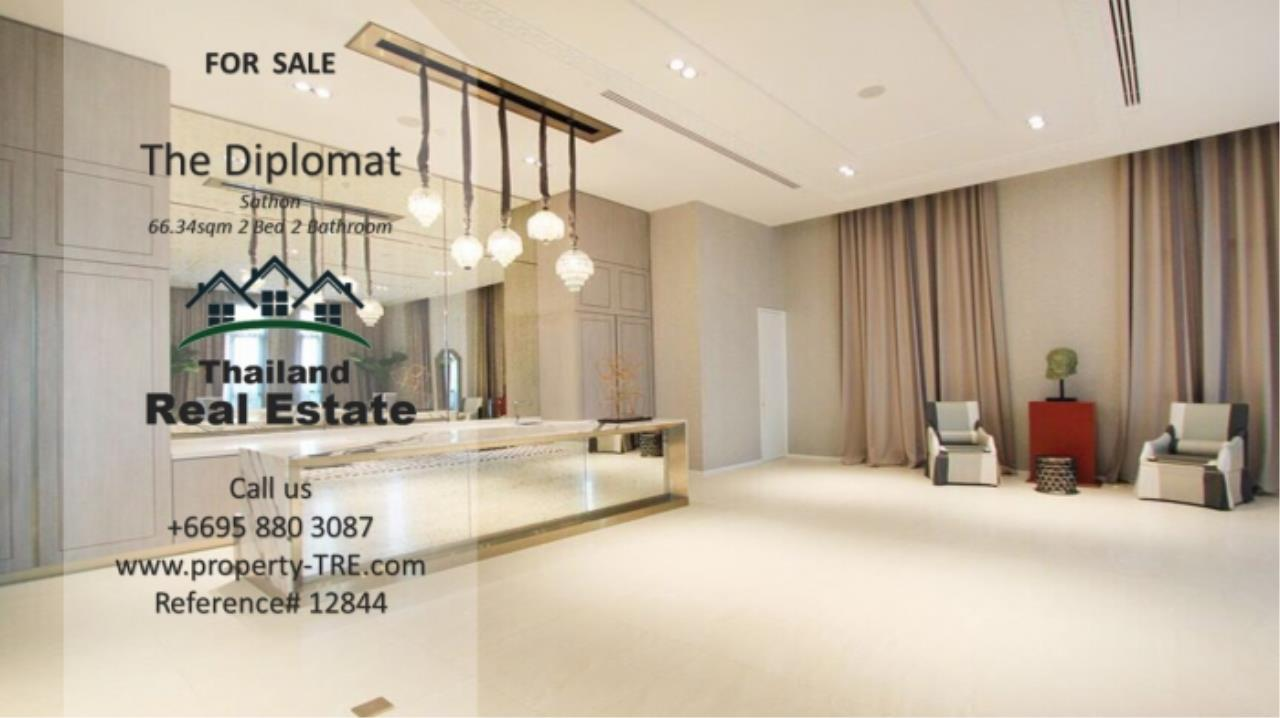Thailand Real Estate Agency's 2 Bedroom Condo at The Diplomat near Surasak BTS (12844) 19