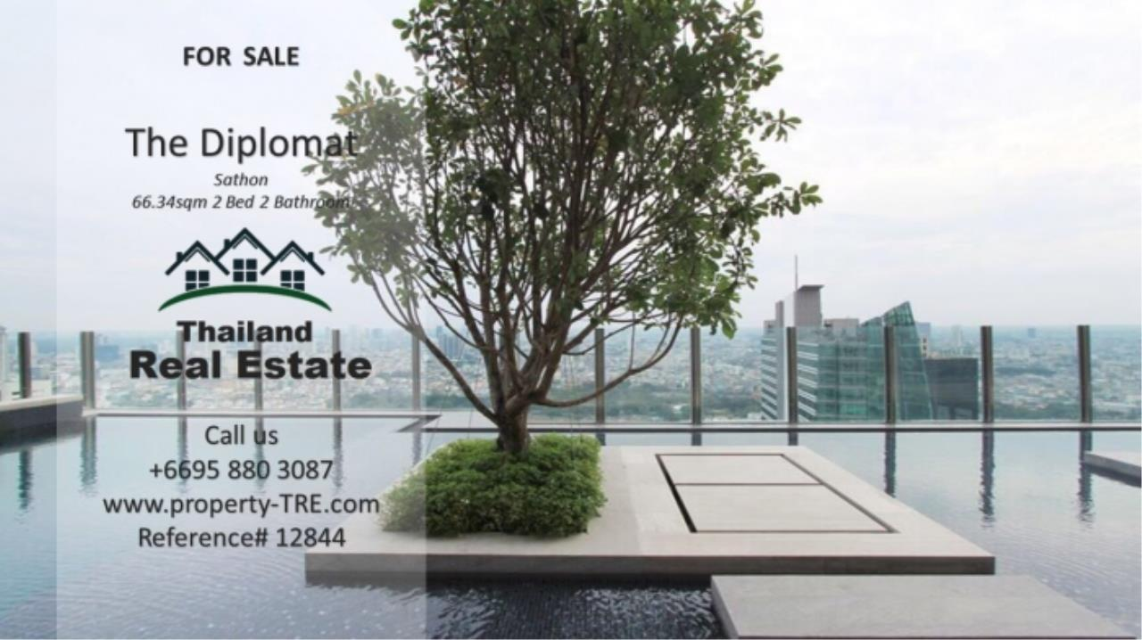 Thailand Real Estate Agency's 2 Bedroom Condo at The Diplomat near Surasak BTS (12844) 20