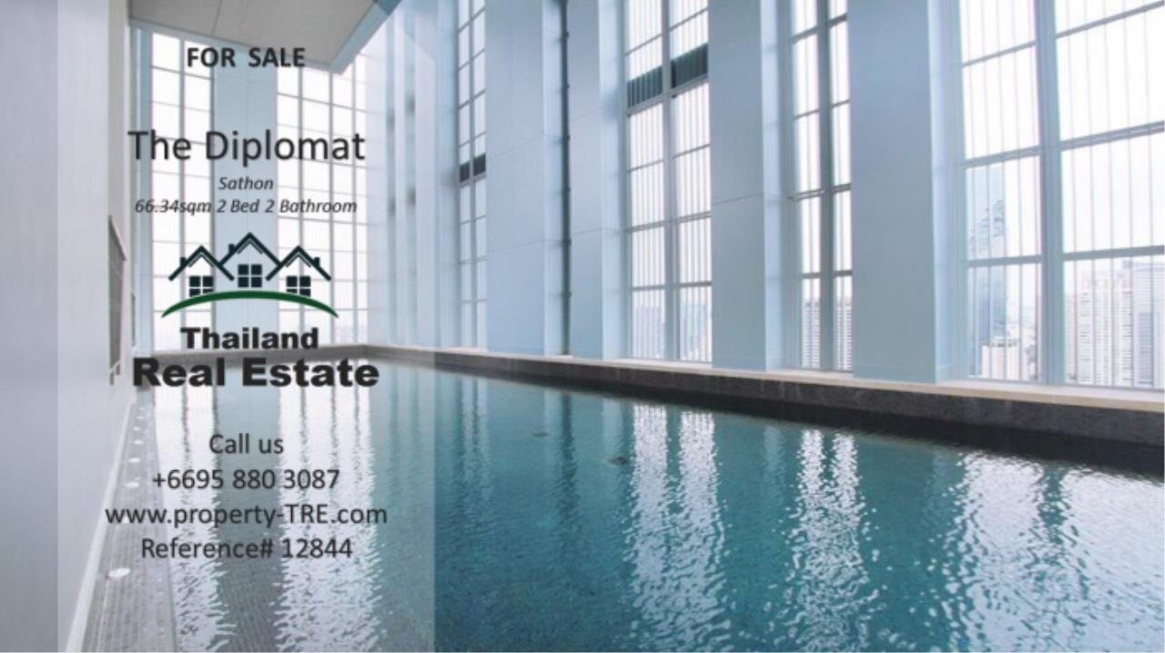 Thailand Real Estate Agency's 2 Bedroom Condo at The Diplomat near Surasak BTS (12844) 21