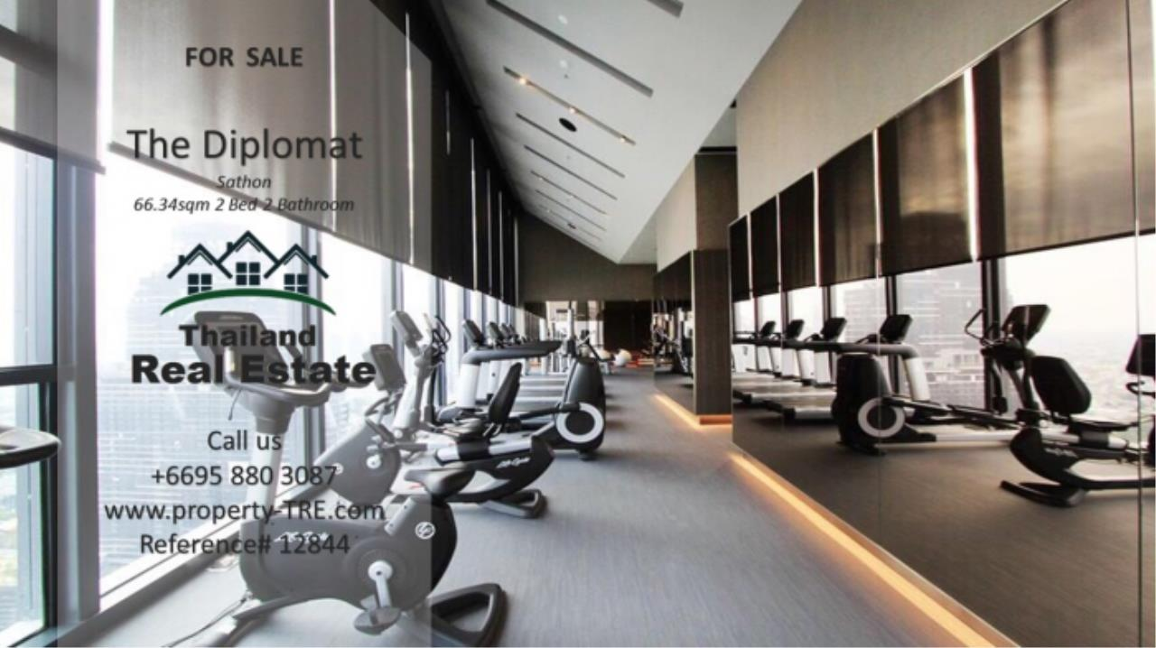 Thailand Real Estate Agency's 2 Bedroom Condo at The Diplomat near Surasak BTS (12844) 22