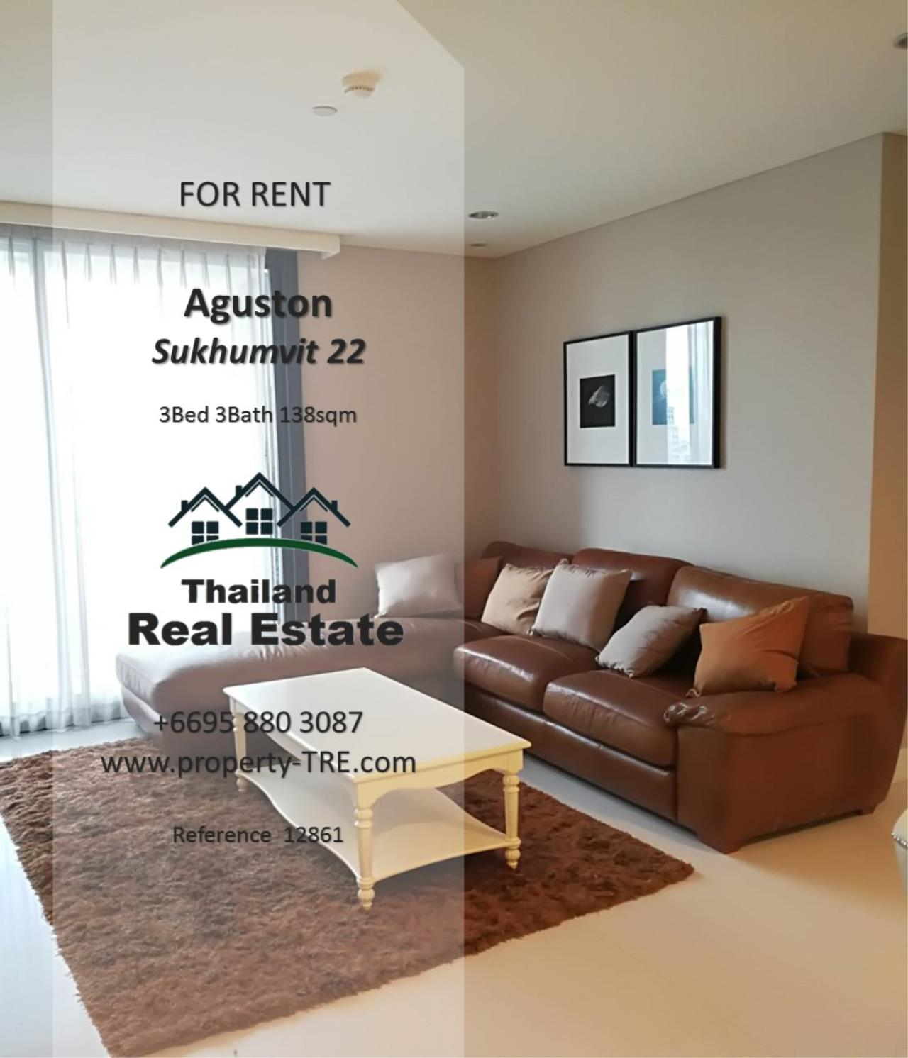 Thailand Real Estate Agency's 3 Bedroom Condo at Aguston Sukhumvit 22 near BTS Phrom Phong(12681) 1