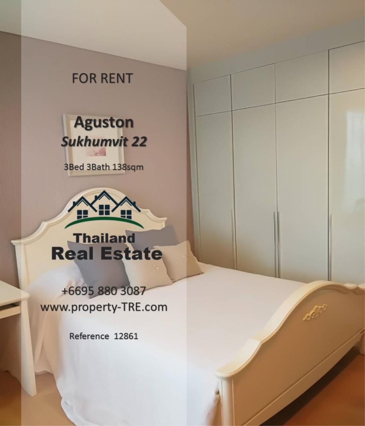 Thailand Real Estate Agency's 3 Bedroom Condo at Aguston Sukhumvit 22 near BTS Phrom Phong(12681) 10