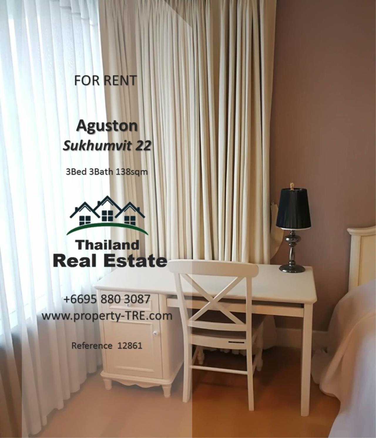 Thailand Real Estate Agency's 3 Bedroom Condo at Aguston Sukhumvit 22 near BTS Phrom Phong(12681) 11