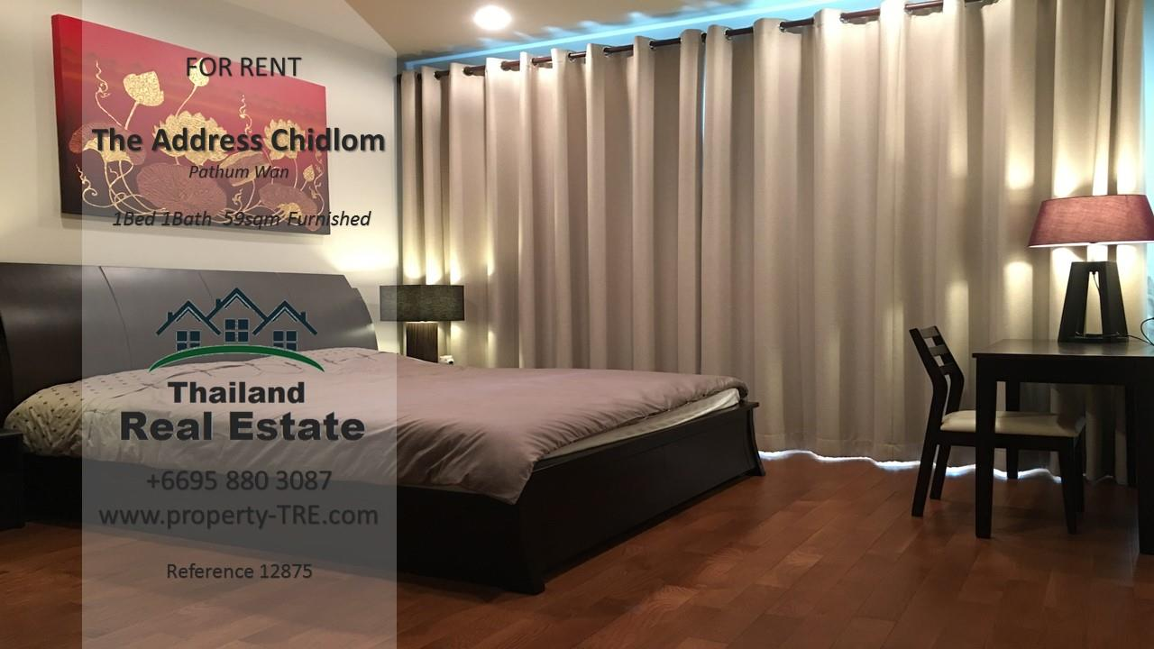 Thailand Real Estate Agency's 1 Bedroom Condo at The Address Chidlom near Chidlom BTS(12875) 1