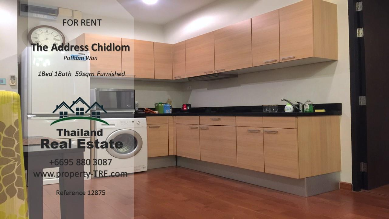 Thailand Real Estate Agency's 1 Bedroom Condo at The Address Chidlom near Chidlom BTS(12875) 2