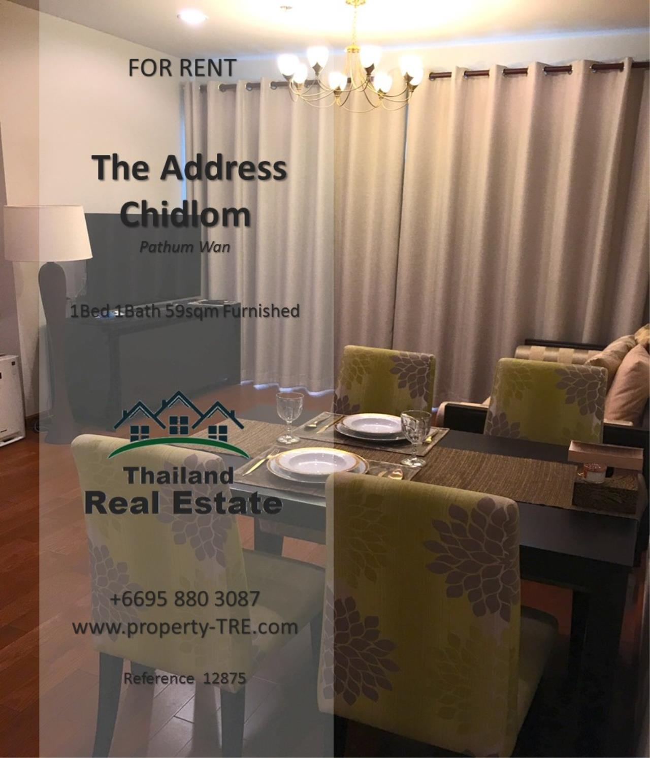Thailand Real Estate Agency's 1 Bedroom Condo at The Address Chidlom near Chidlom BTS(12875) 3
