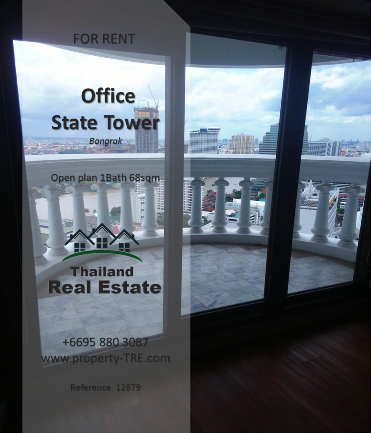 Thailand Real Estate Agency's Office at State Tower near BTS Saphan Taksin(12879) 2