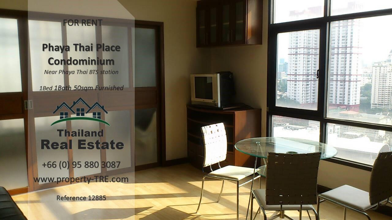 Thailand Real Estate Agency's 1 bedroom condo for rent in Phaya Thai Place near BTS Phaya Thai(12885) 2