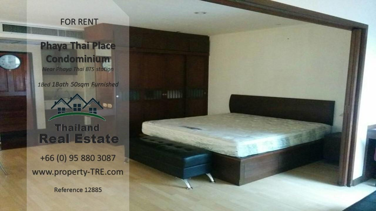 Thailand Real Estate Agency's 1 bedroom condo for rent in Phaya Thai Place near BTS Phaya Thai(12885) 3