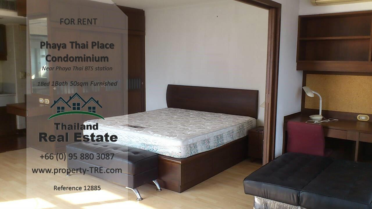 Thailand Real Estate Agency's 1 bedroom condo for rent in Phaya Thai Place near BTS Phaya Thai(12885) 4