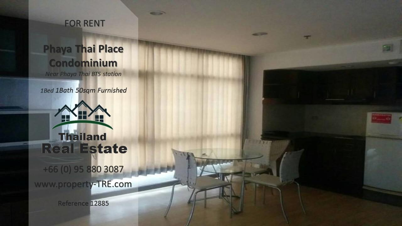 Thailand Real Estate Agency's 1 bedroom condo for rent in Phaya Thai Place near BTS Phaya Thai(12885) 6
