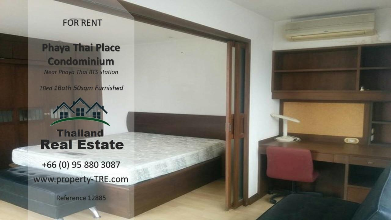 Thailand Real Estate Agency's 1 bedroom condo for rent in Phaya Thai Place near BTS Phaya Thai(12885) 7