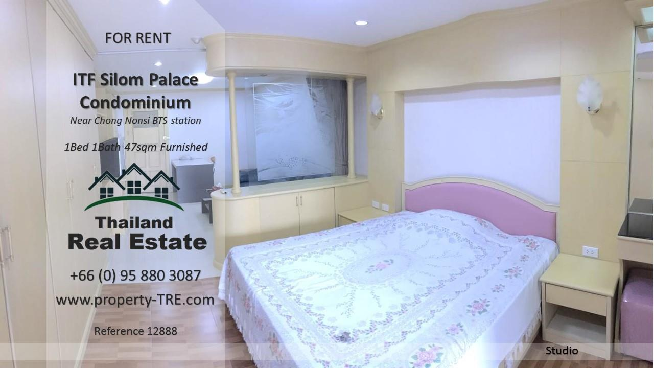 Thailand Real Estate Agency's  Studio for rent in ITF Silom Palace near BTS Chong Nonsi(12888) 2