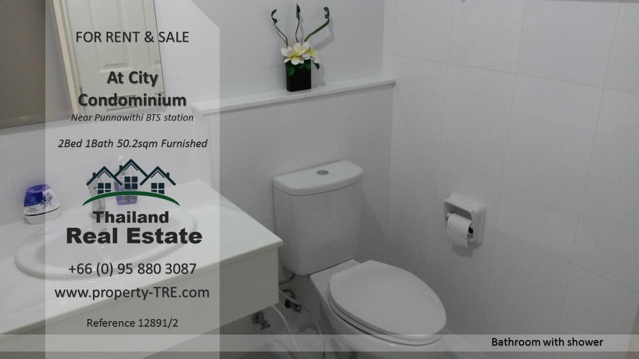 Thailand Real Estate Agency's 2 Bedroom Condo @City near Punnawithi BTS(12891) 10