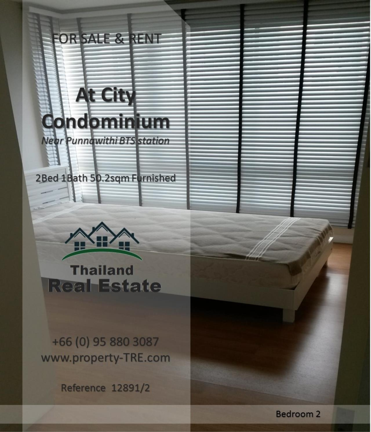 Thailand Real Estate Agency's 2 Bedroom Condo @City near Punnawithi BTS(12891) 8