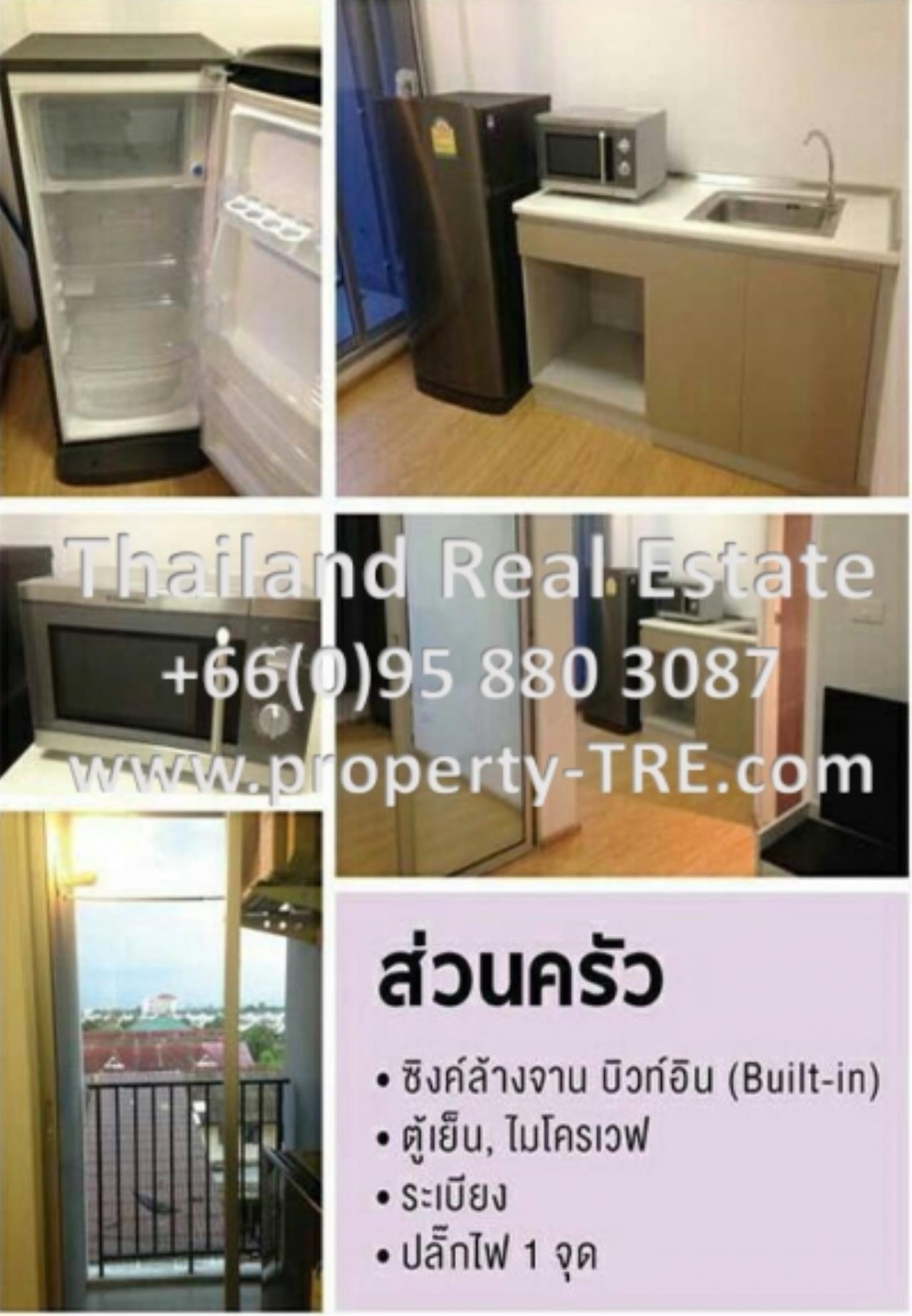 Thailand Real Estate Agency's 1 Bedroom Condo at  D Condo Rattanatibet near MRT Sai Ma(12675) 1