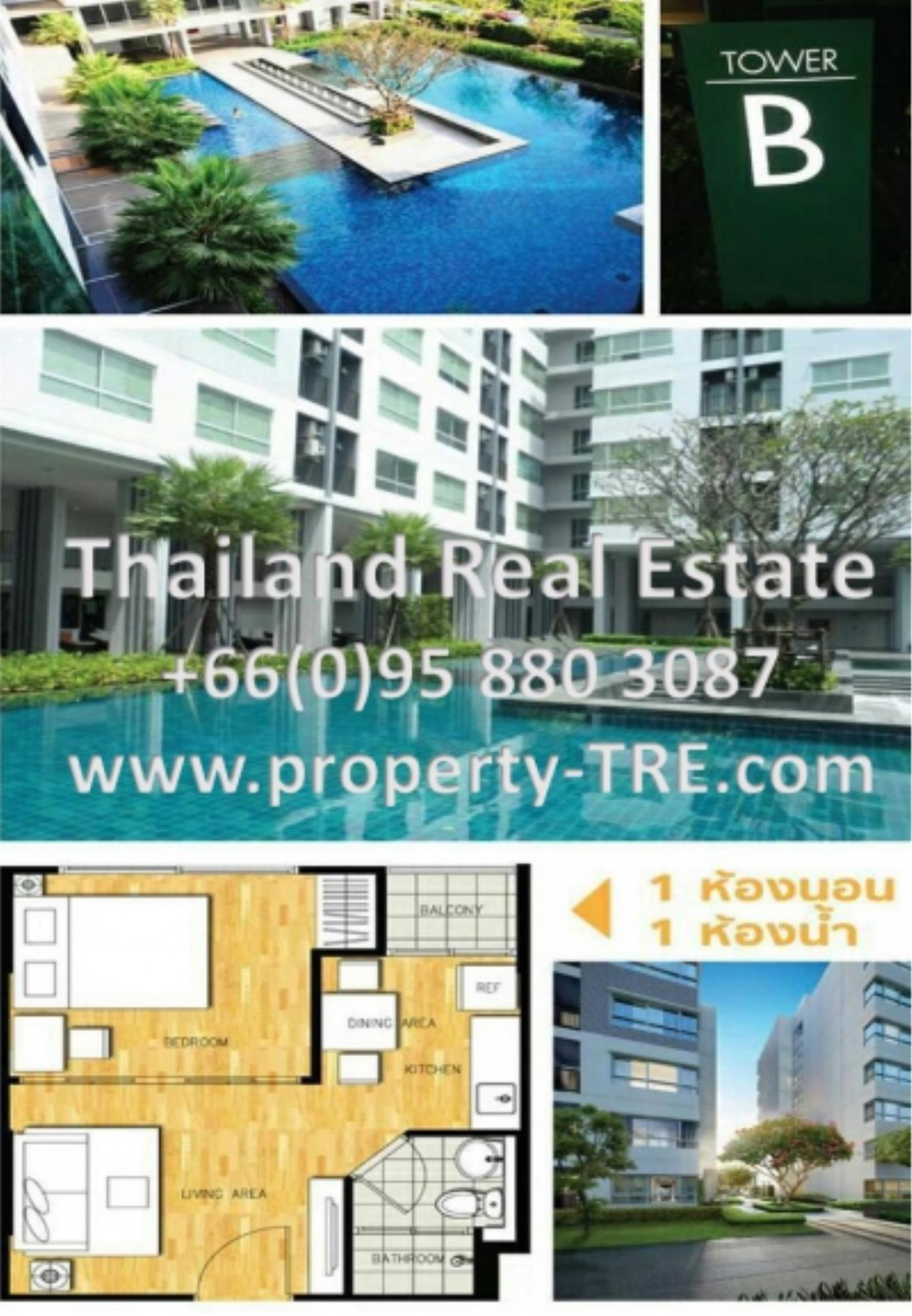 Thailand Real Estate Agency's 1 Bedroom Condo at  D Condo Rattanatibet near MRT Sai Ma(12675) 3