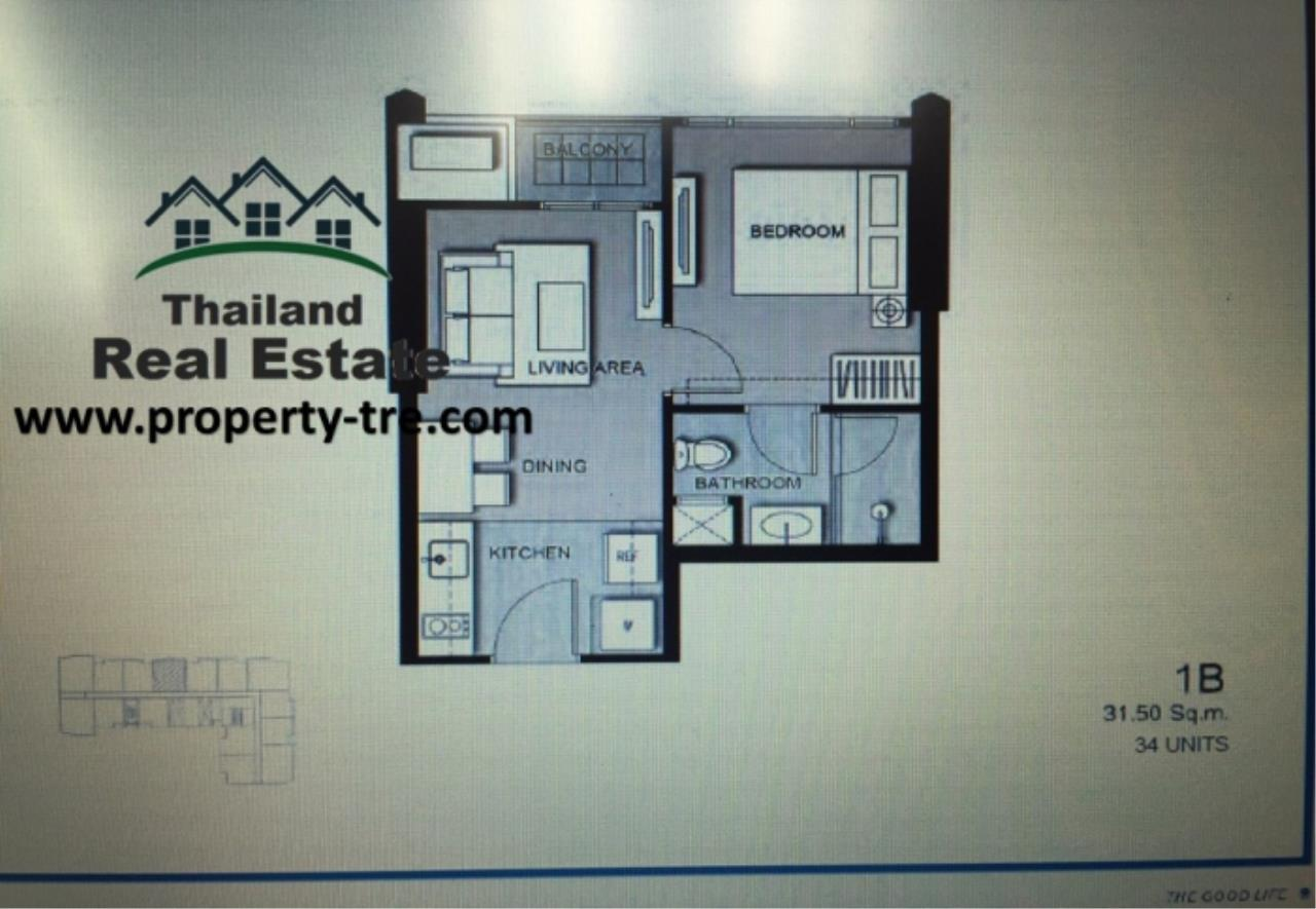 Thailand Real Estate Agency's 1 Bedroom Condo at The Edge by Sansiri near BTS Asok(12759) 4