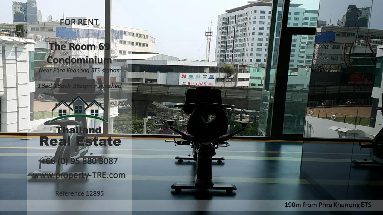 Thailand Real Estate Agency's 1 Bedroom Condo at The Room Sukhumvit 69 near Phra Khanong BTS(12895) 14