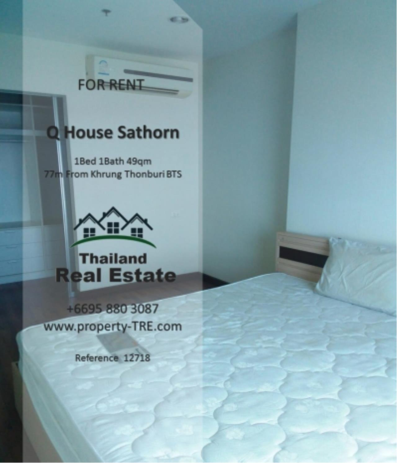 Thailand Real Estate Agency's 1 Bedroom Condo at  Q House  near BTS Khrung Thonburi(12718) 4