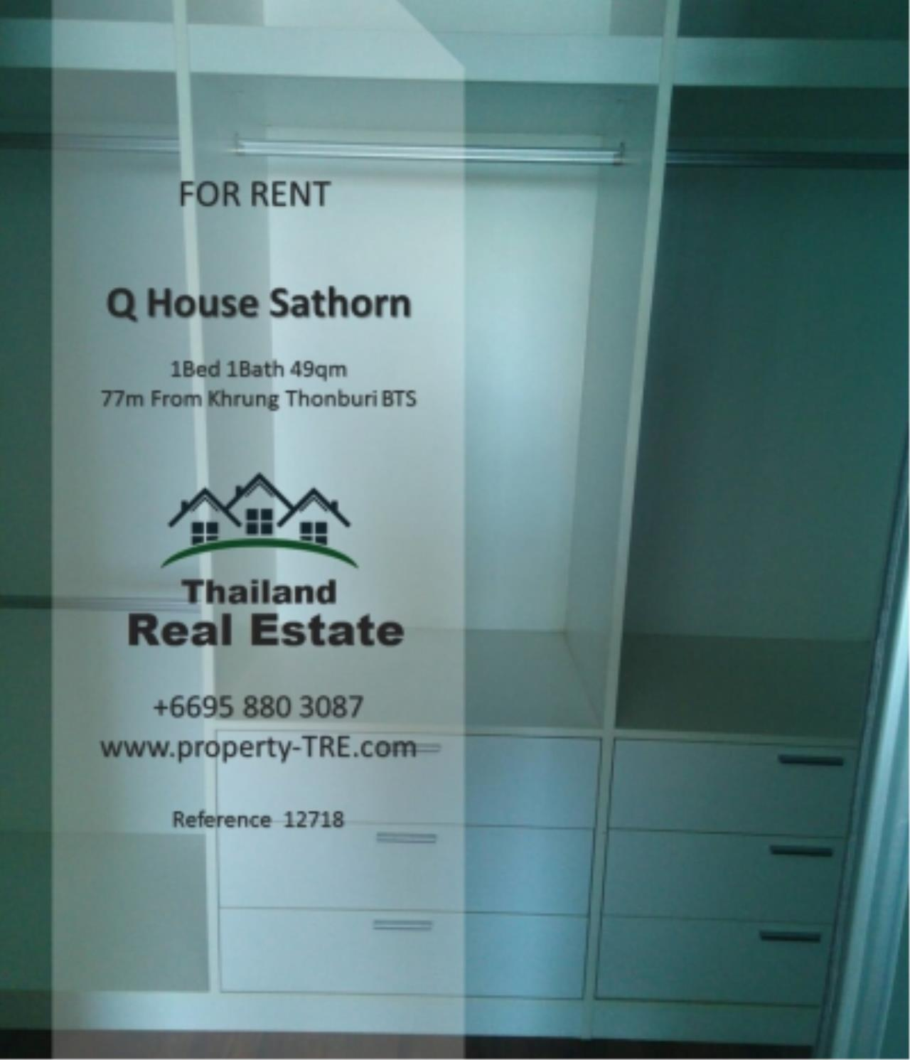 Thailand Real Estate Agency's 1 Bedroom Condo at  Q House  near BTS Khrung Thonburi(12718) 6