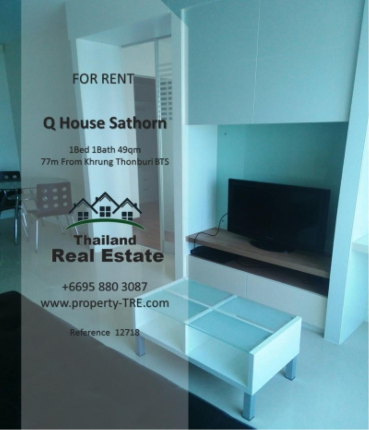 Thailand Real Estate Agency's 1 Bedroom Condo at  Q House  near BTS Khrung Thonburi(12718) 7