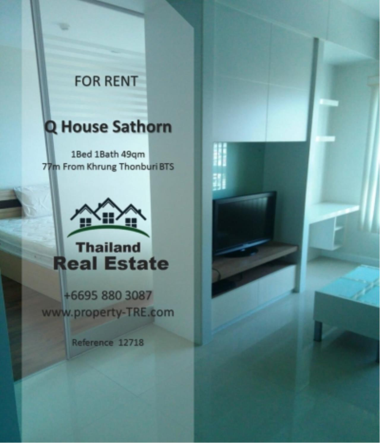 Thailand Real Estate Agency's 1 Bedroom Condo at  Q House  near BTS Khrung Thonburi(12718) 8