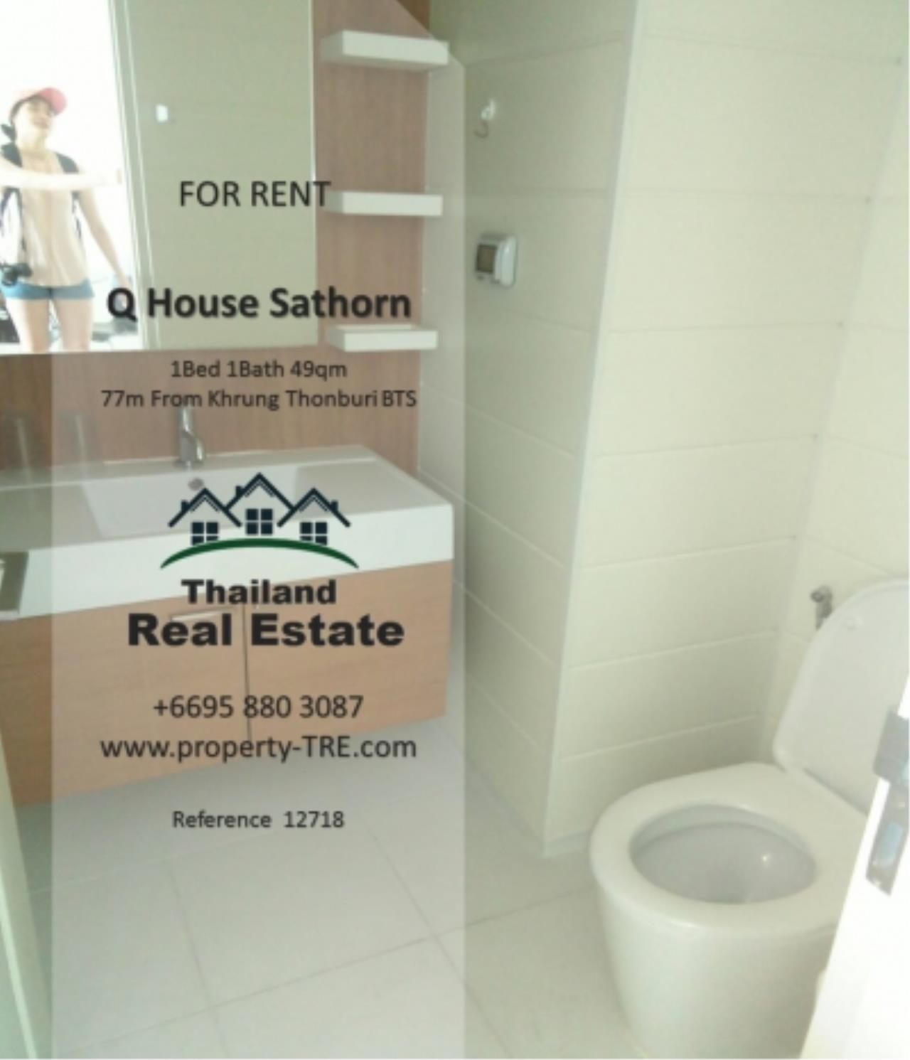 Thailand Real Estate Agency's 1 Bedroom Condo at  Q House  near BTS Khrung Thonburi(12718) 9