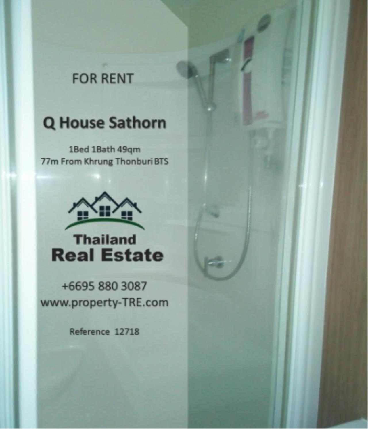 Thailand Real Estate Agency's 1 Bedroom Condo at  Q House  near BTS Khrung Thonburi(12718) 10