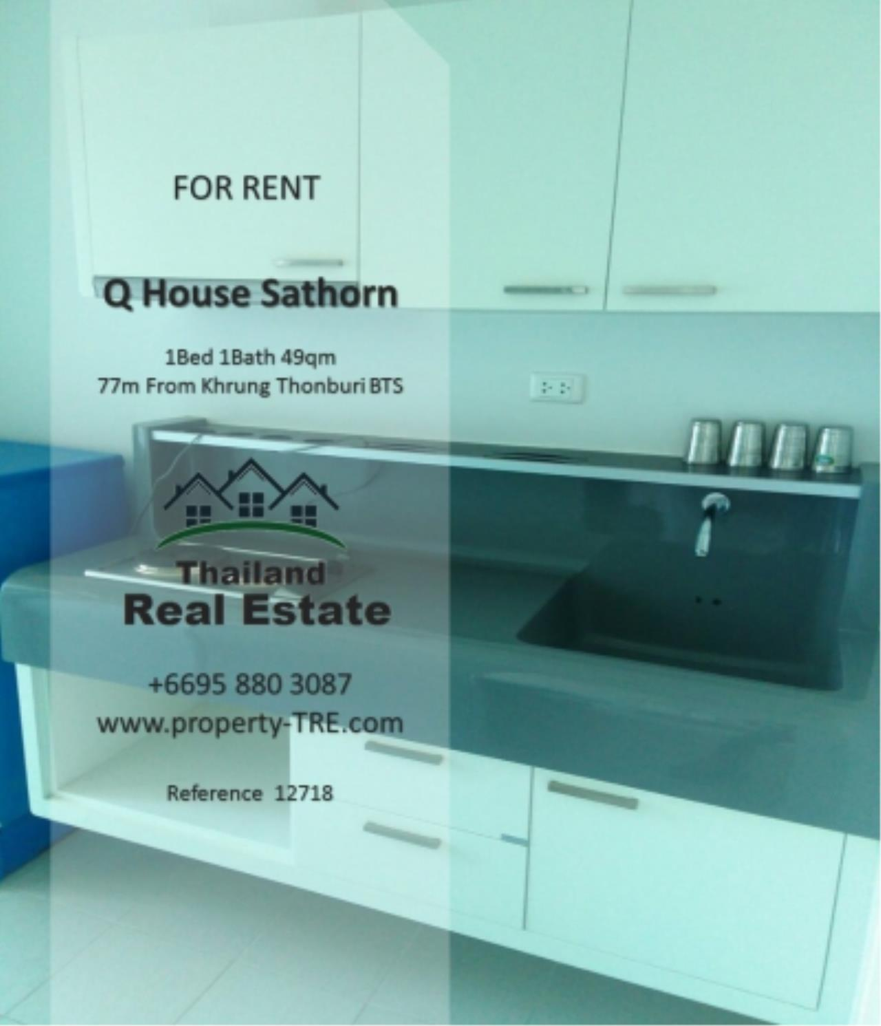 Thailand Real Estate Agency's 1 Bedroom Condo at  Q House  near BTS Khrung Thonburi(12718) 11