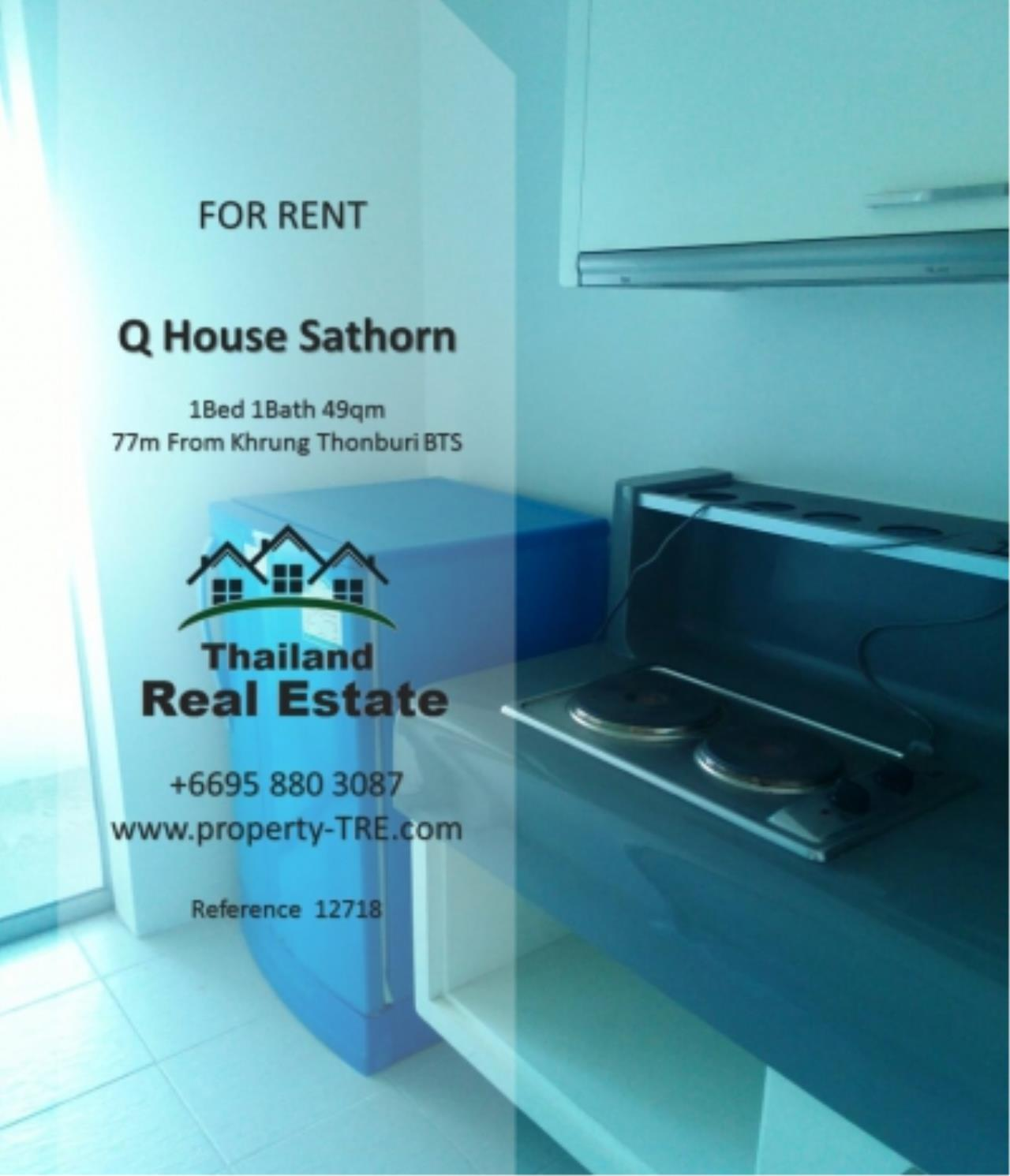 Thailand Real Estate Agency's 1 Bedroom Condo at  Q House  near BTS Khrung Thonburi(12718) 12