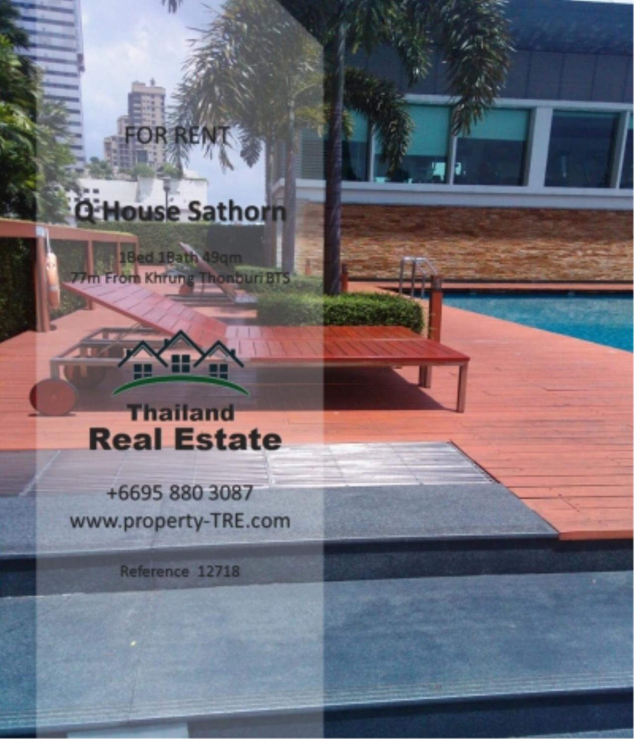 Thailand Real Estate Agency's 1 Bedroom Condo at  Q House  near BTS Khrung Thonburi(12718) 13