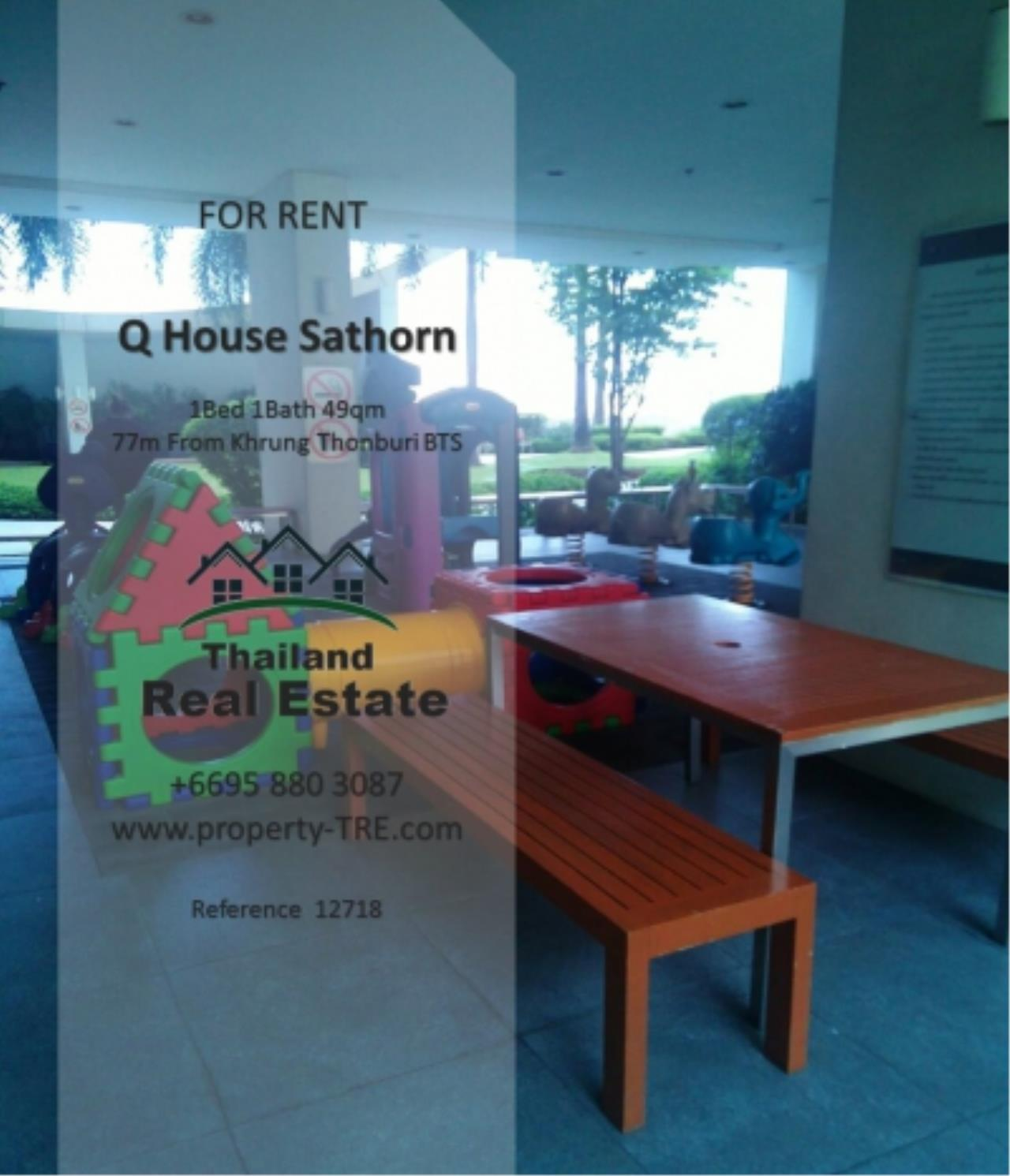 Thailand Real Estate Agency's 1 Bedroom Condo at  Q House  near BTS Khrung Thonburi(12718) 14