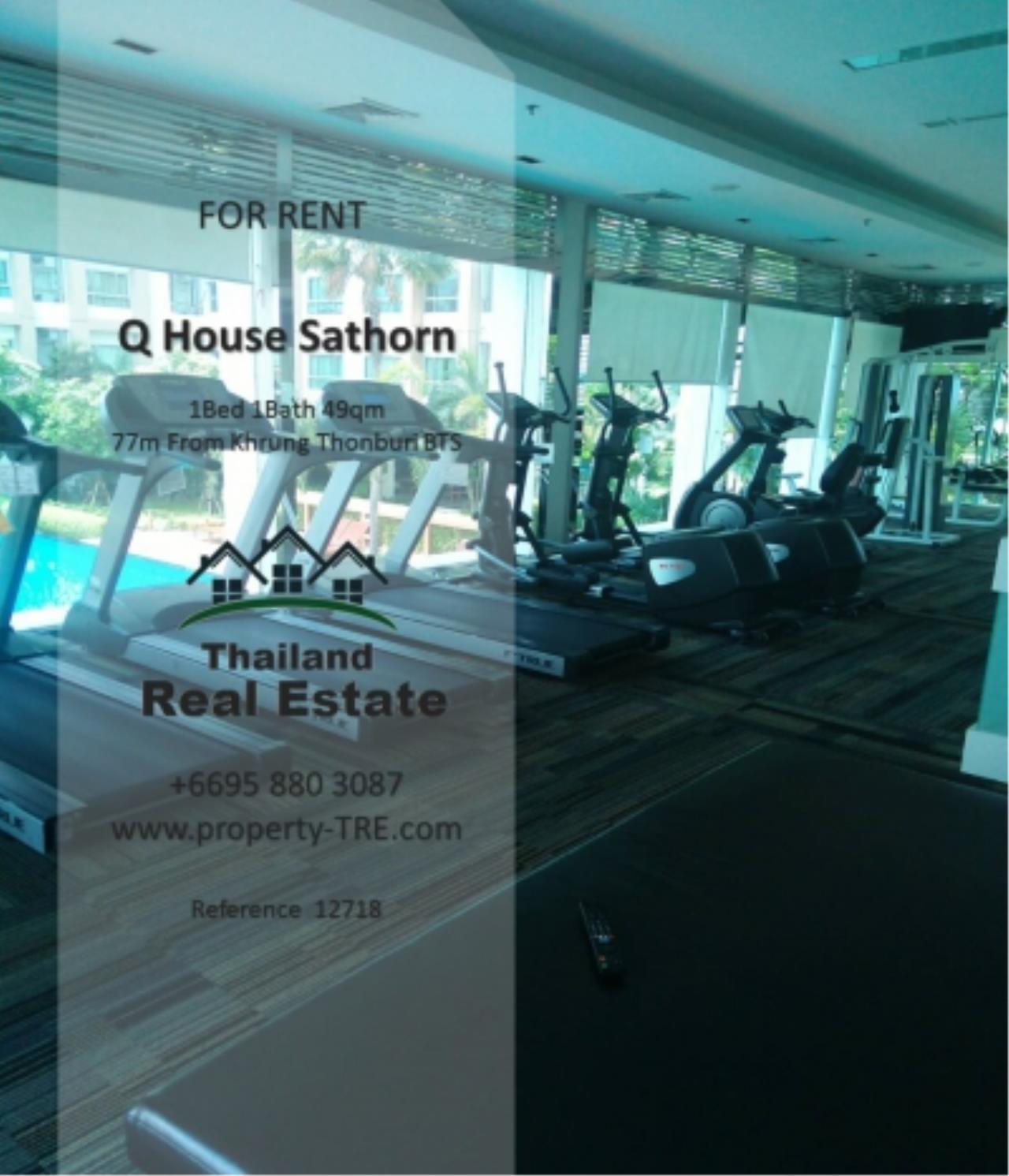 Thailand Real Estate Agency's 1 Bedroom Condo at  Q House  near BTS Khrung Thonburi(12718) 16